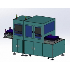 Packaging automation - automatic cover and label system