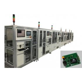 Communication module packaging line